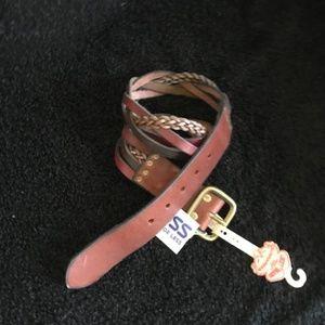 LUCKY BRAND Pieces Braided Multi Strand Belt